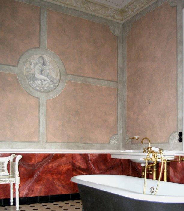 Malerei und restaurierung badgestaltung radebeul bei for Kreative raumgestaltung